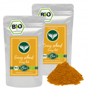 Currypowder hot (500 grams)