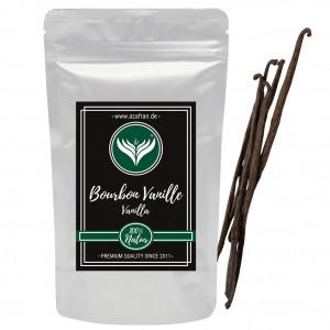 10 pcs Bourbon-Vanilla beans