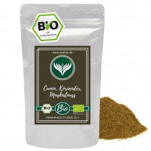 Organic Cumin Coriander Nutmeg (250g)