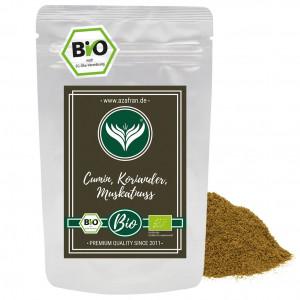 Organic Cumin Coriander Nutmeg (50g)
